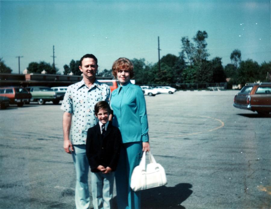 Dad, Mom & Tom