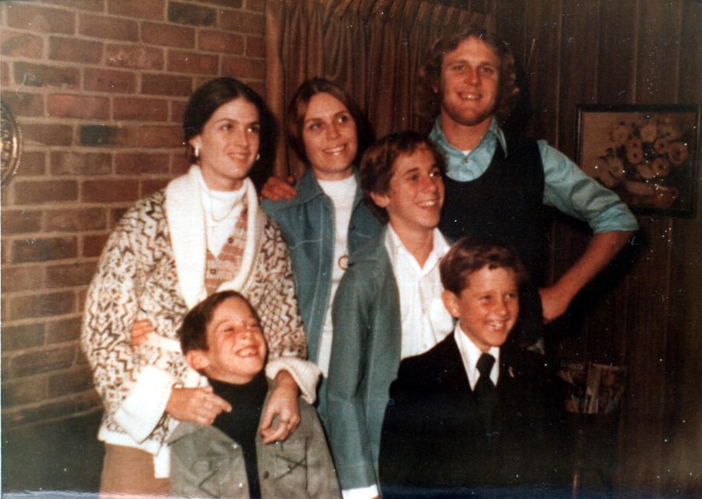 Kim, Tom, Mom, Roger, Terry & Ken