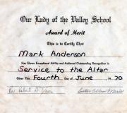 Mark Award