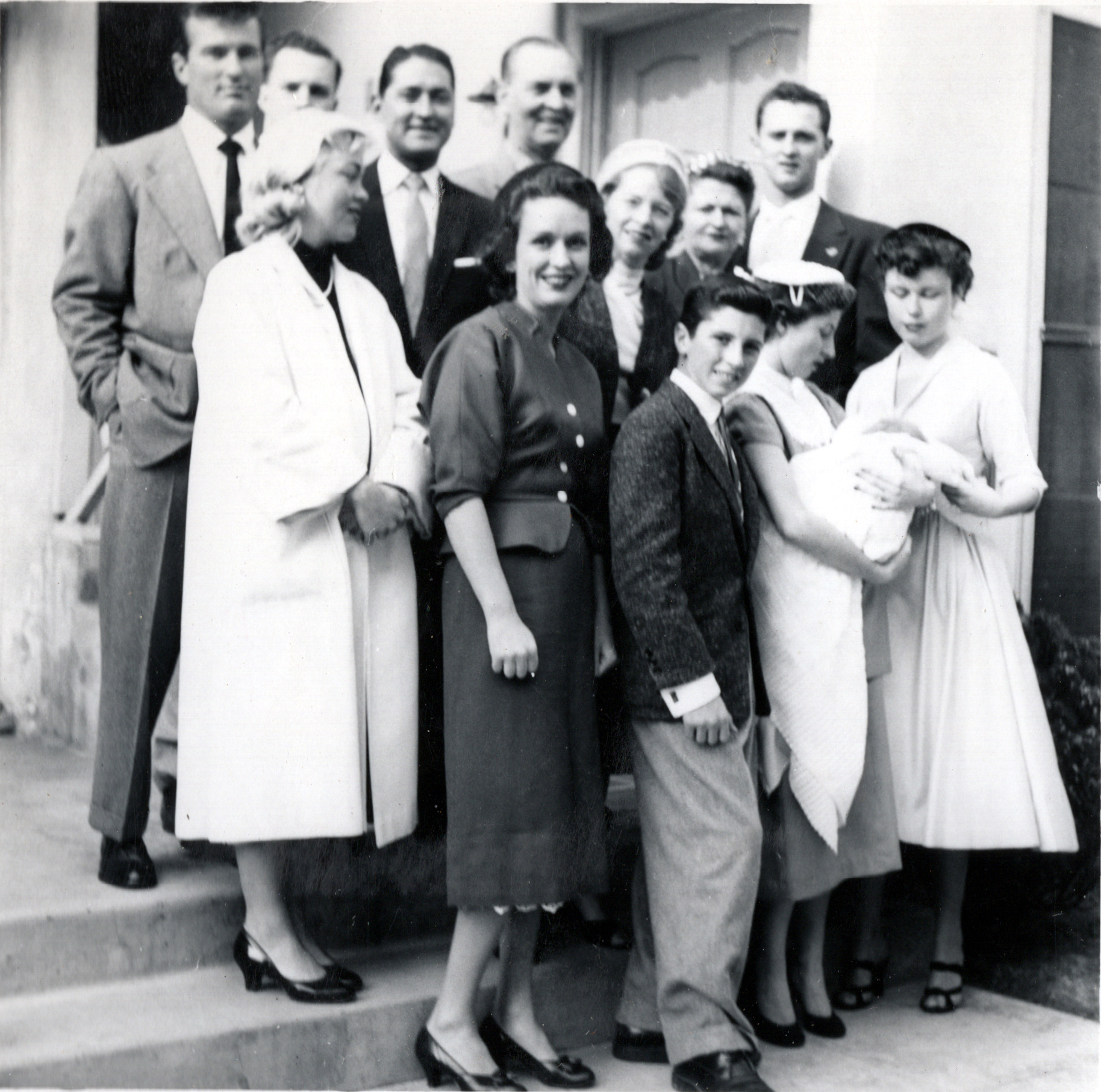 Buddy's Baptism Group - March 1956