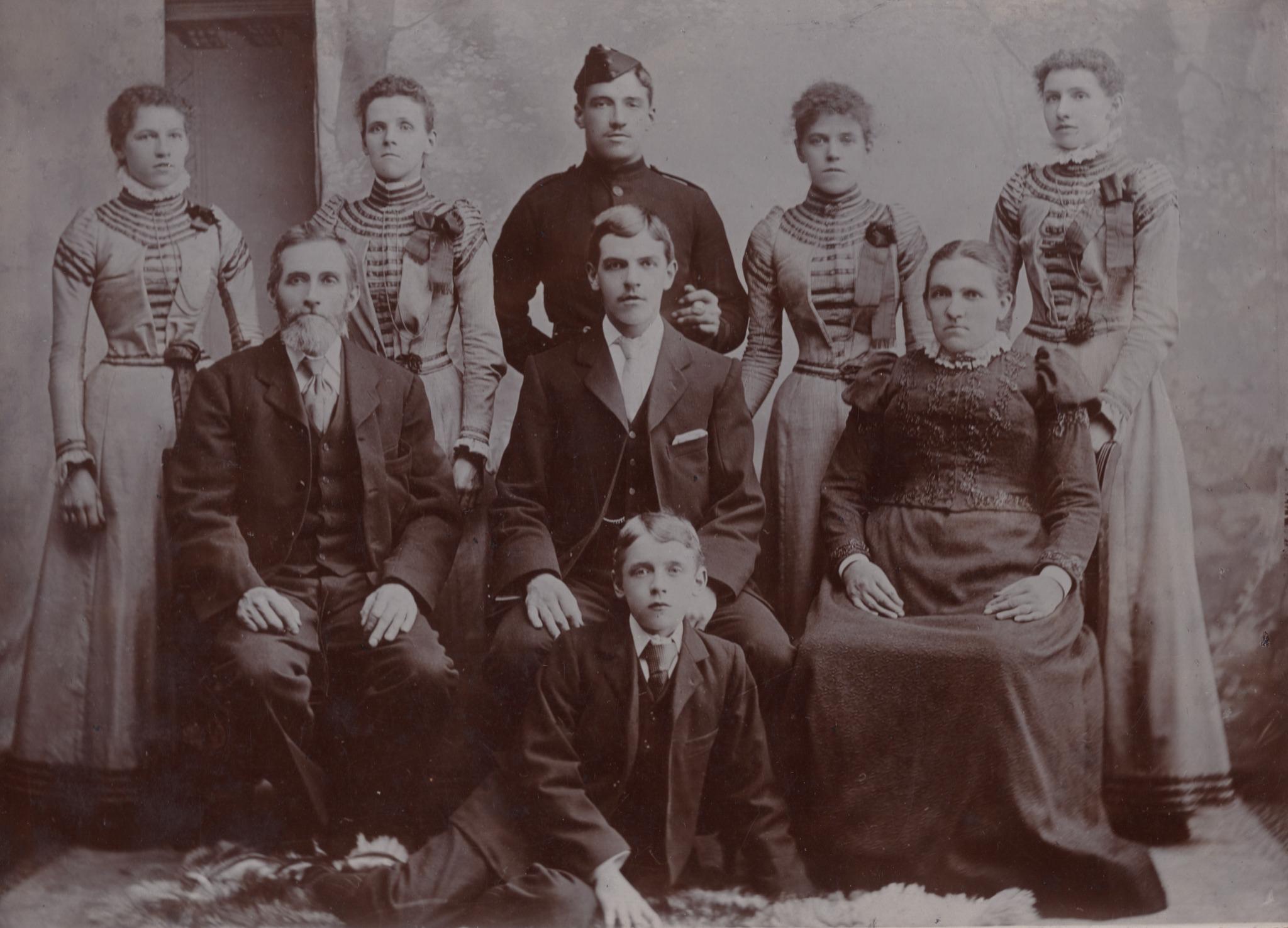 Fletcher Family - Before