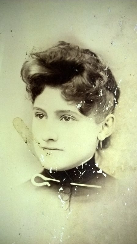 May Johanna Hoffman 1870-1954 - Before