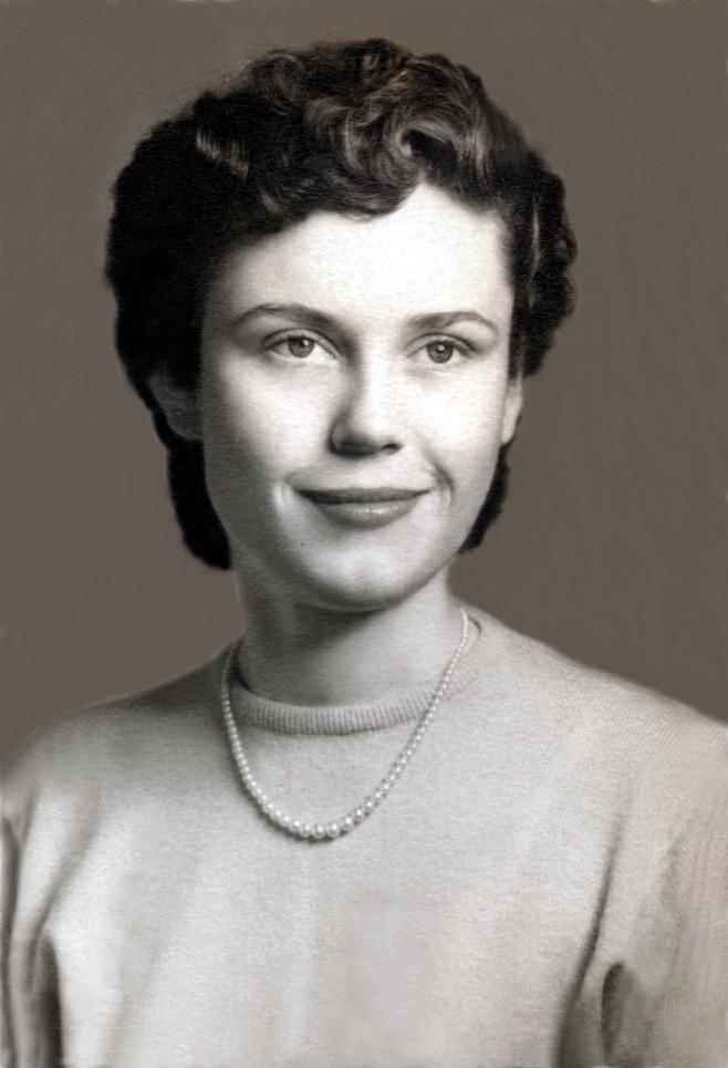 Darlene Highschool 1953 - After
