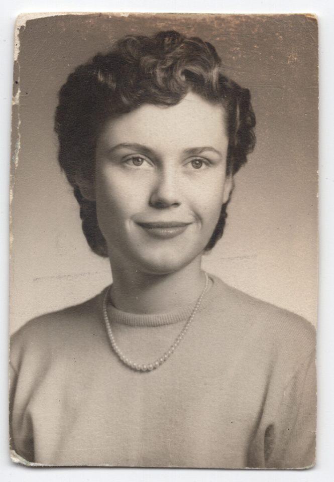 Darlene Highschool 1953 - Before