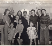 Anderson & Cooper Families 1940-41 - Before