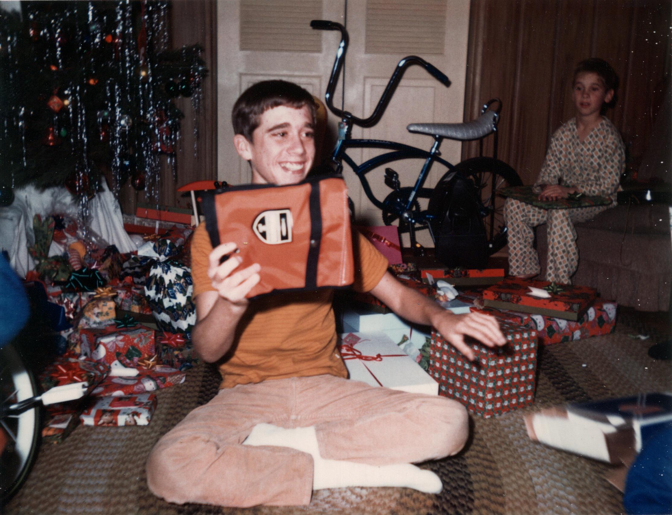 Buddy & Roger at Christmas