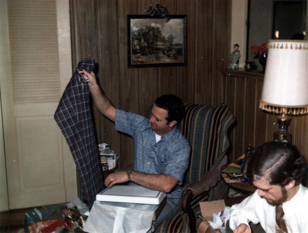 Dad & Buddy (Those pants - Yikes)