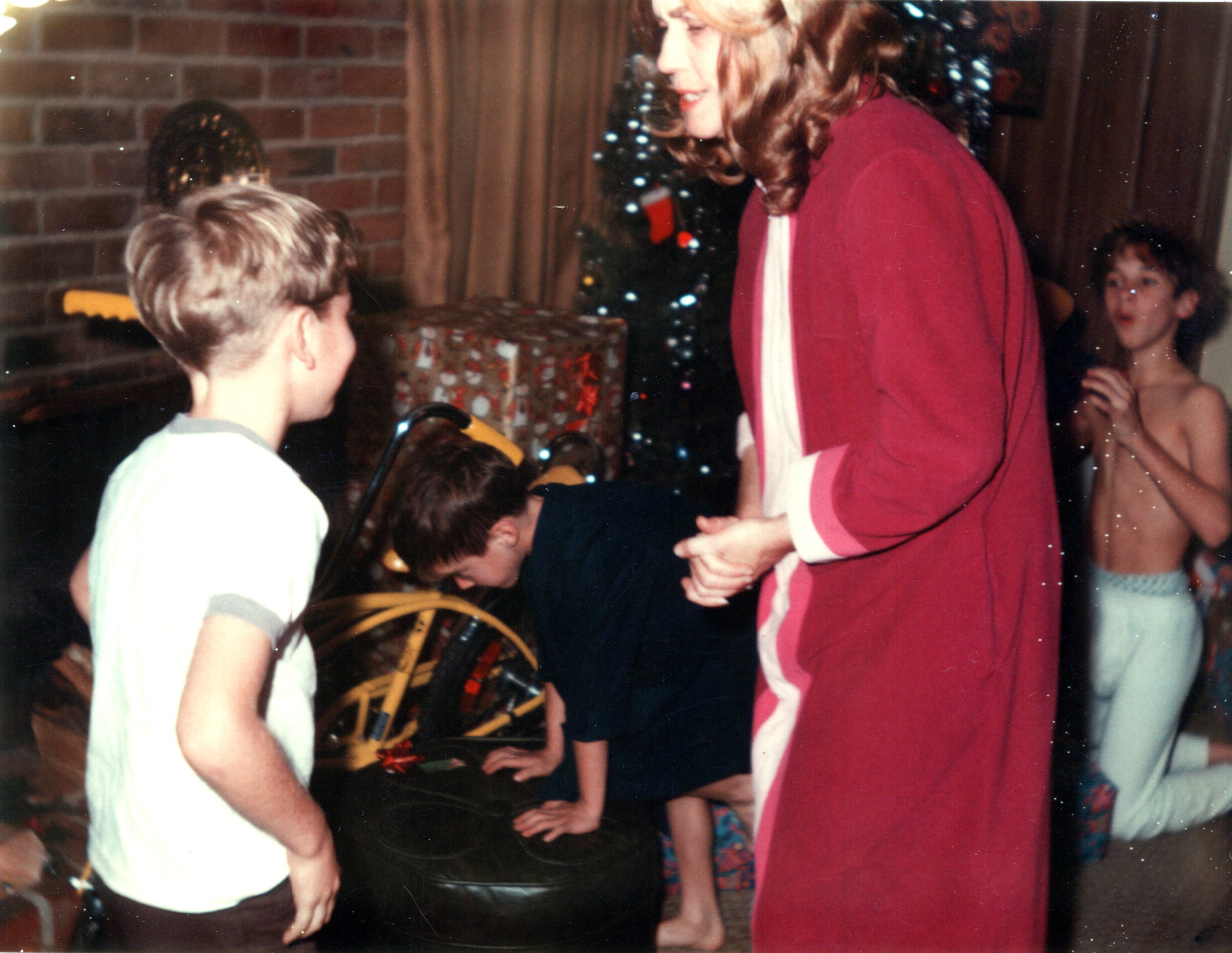 Ken, Tom, Mom & Roger