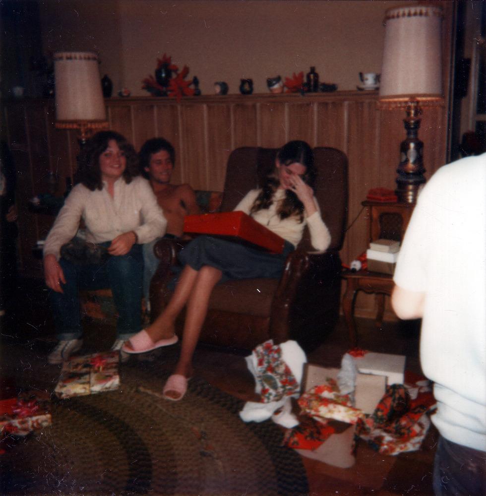 Mandy, Mark with Kim Crying