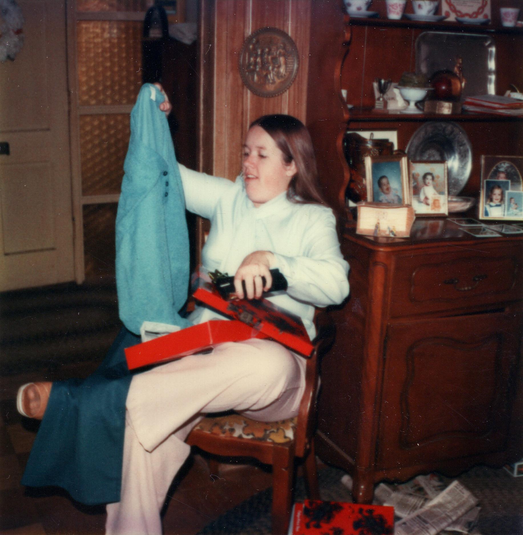 Patti at Christmas