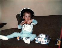 Ken at Christmas - 1970