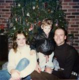 Mandy, Sean & Mark at Christmas