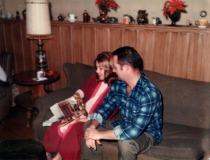 Mom & Dad at Christmas