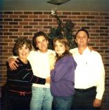Mom, Mark, Mandy & Dad