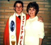 Ken & Mom at Confirmation