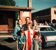 Mom, Dad, Kim, Ken, Roger & Tom at Rogers Confirmation