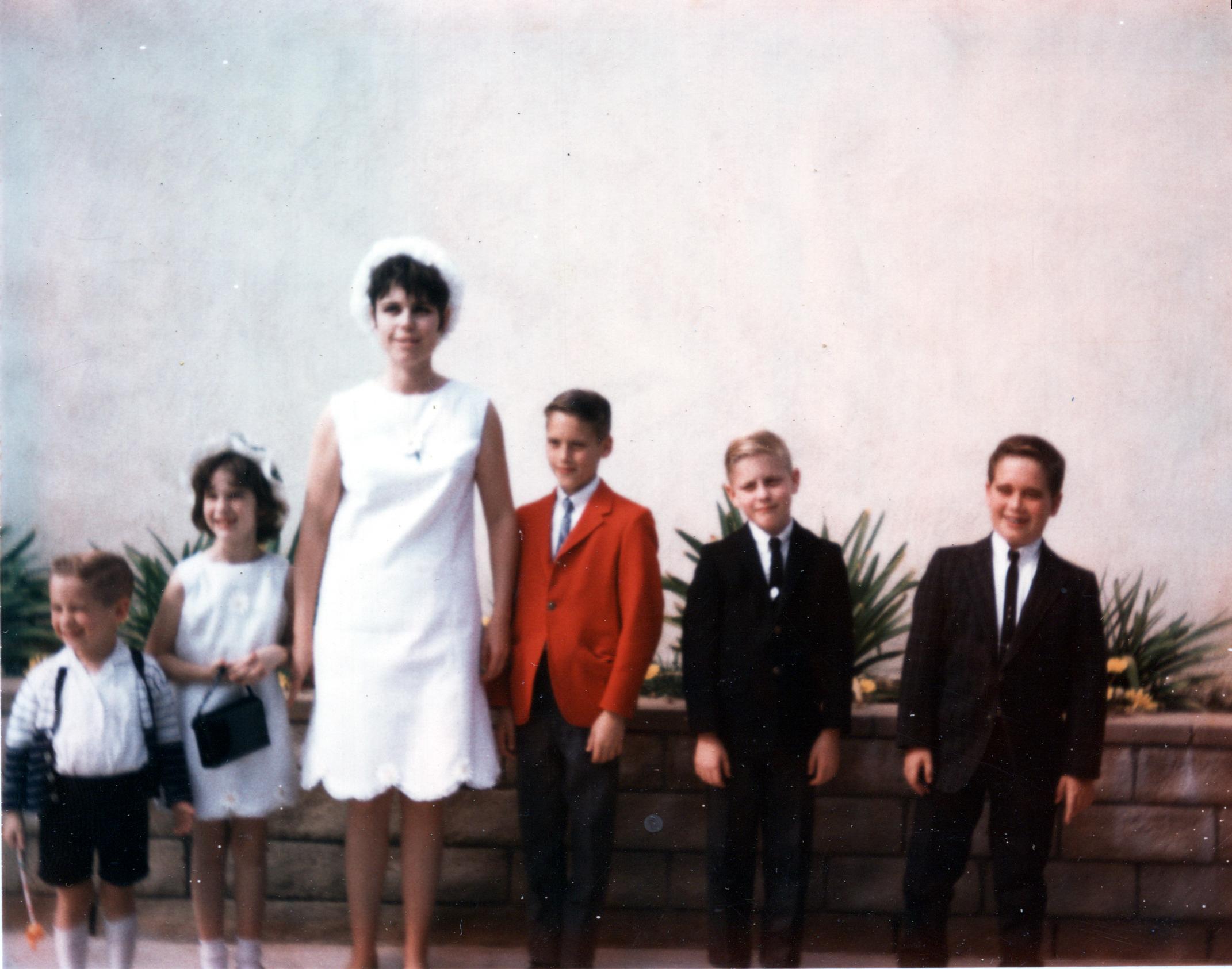 Easter - Roger, Kim, Mom, Mark, Terry & Buddy