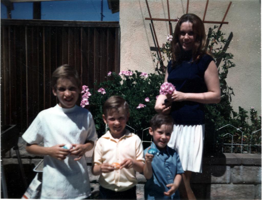 Easter - Mom, Roger, Ken & Tom