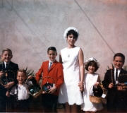 Easter - Terry, Roger, Mark, Mom, Kim & Buddy