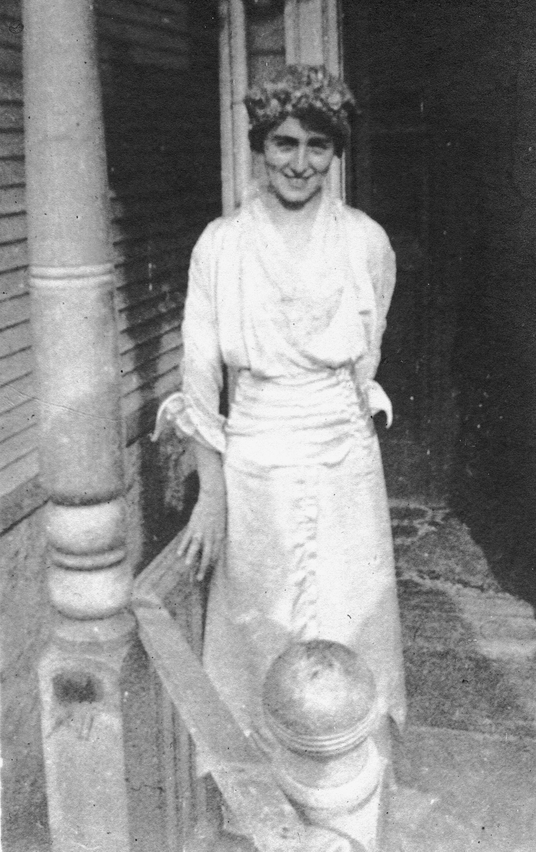 Marguerite Fleischer on Her Wedding Day