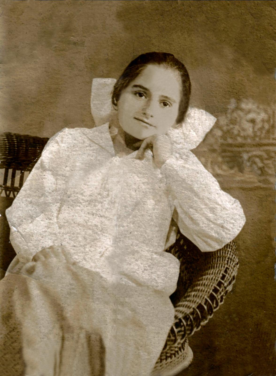 Marie Fleischer 14 years old