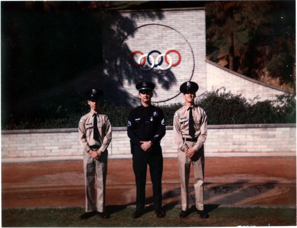 Buddy, Dad & Mark at Police Academy Explorers