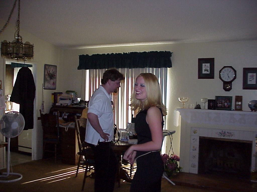 Ken & Jenna after Jenna's Graduation
