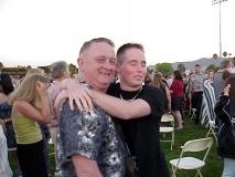 Dad & John at Jenna's Graduation