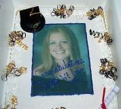 Jenna's Graduation Cake