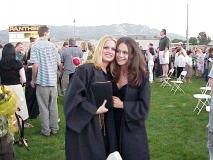 Jenna & Friend After Graduation
