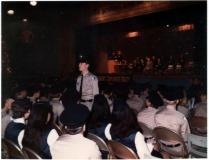 Mark at Explorers Graduation