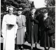 Sheryl Graduation with Grandmas