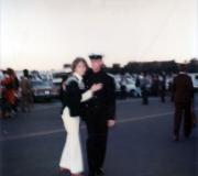 Mom & Terry at Navy Graduation