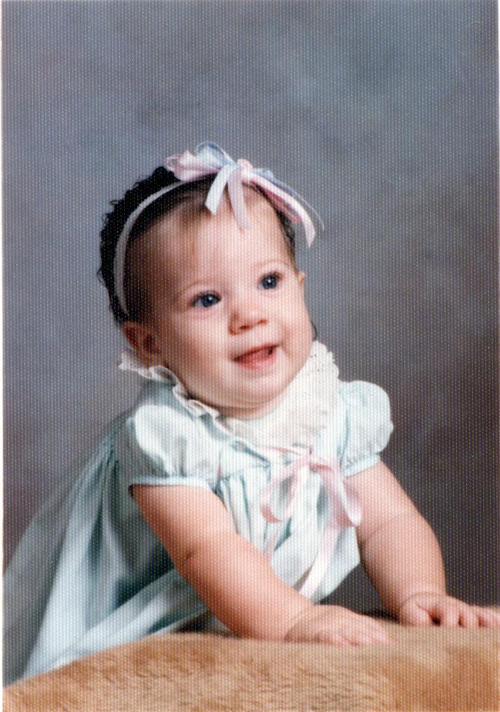 Anna 7 Months