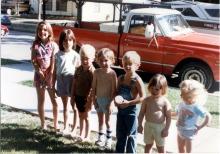 Jennifer, Tara, Wil, Johnny, Sean, Brianne & Jenna