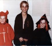 Ken, Roger & Tom Halloween 1974