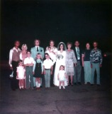Family at Kim & John's Wedding