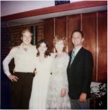 John, Kim, Mom & Dad