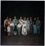 Kim Wedding with Family