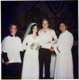Roger, Kim, John and Preist