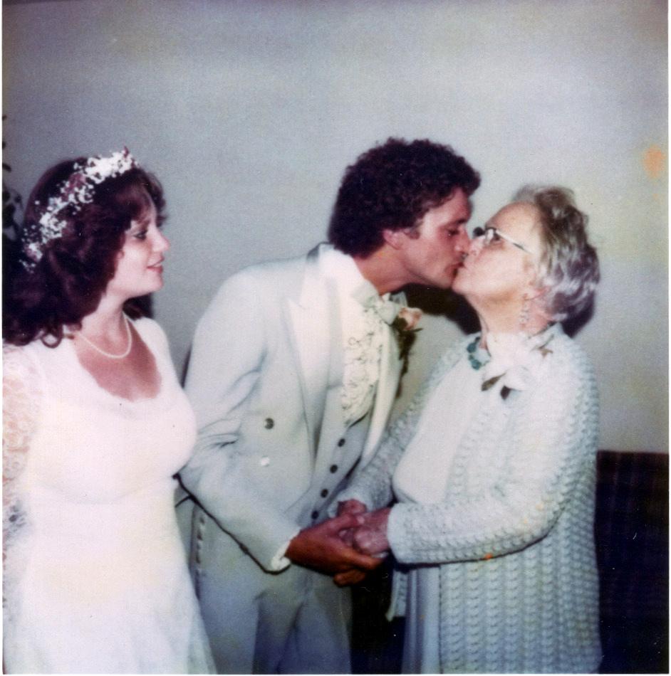 Mark & Mandy with Grandma