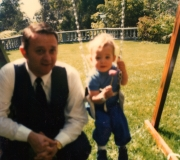 Dad & Kenny Roger's Kid
