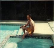 Dad at Pool