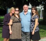 Kim, Jenna, Dad & Tara