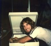 Roger with New Toolbox
