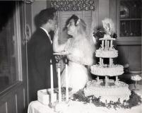 Darlene Feeding Cake