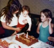 Bonnie, Brianne & Jennifer at Brianne's 1st Birthday