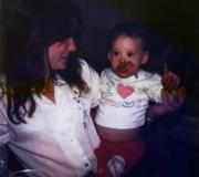 Bonnie & Brianne at Brianne's 1st Birthday