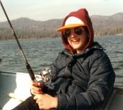 Ken Fishing in Big Bear