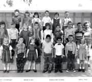 Kim's Kindergarten Class 1966 (Middle Row Center)